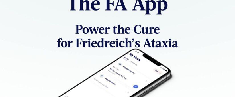 Εφαρμογή για κινητά για την Αταξία του Φρίντριχ